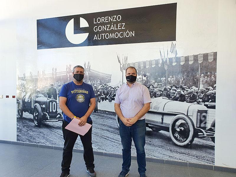 Lorenzo González Automoción patrocinador Trofeo Opel N3