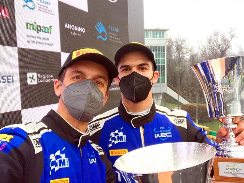 Fauzal Zaldivar y Rogelio Peñate segundos en Monza