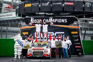 ¡Mads Østberg gana el título Mundial de WRC2 con el C3 R5!