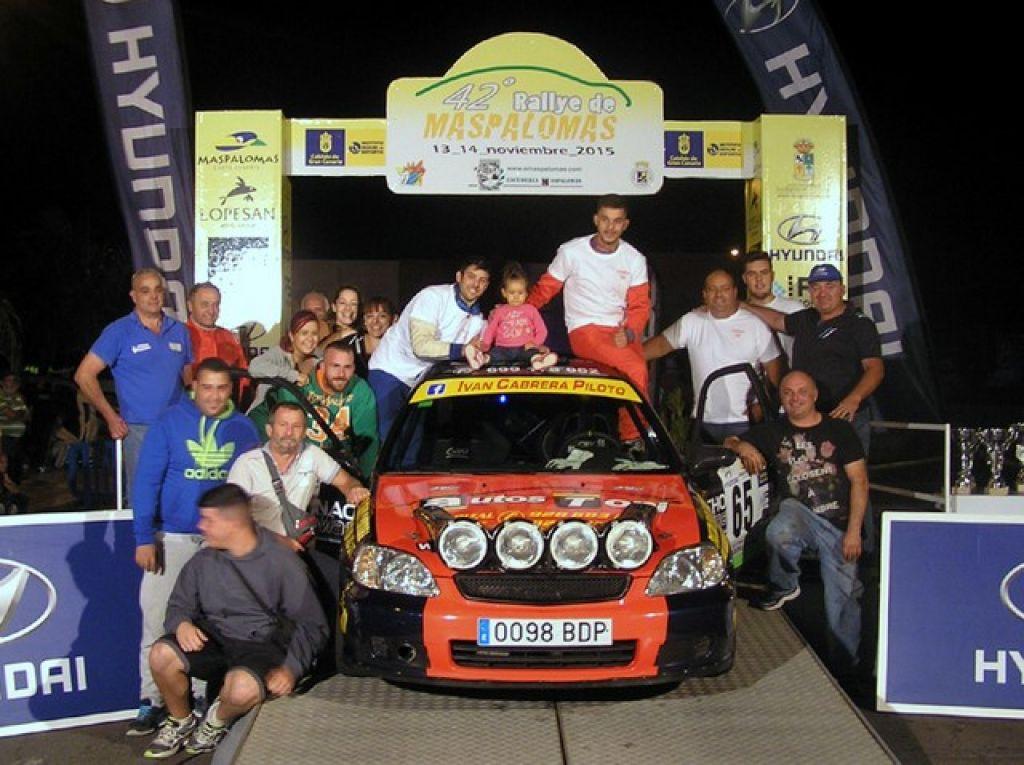 Misión cumplida para el Canary Team Raid en el Intercontinental Rally