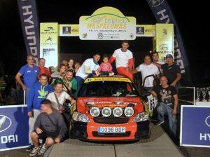 Positivo debut en Rallyes para Iván Cabrera
